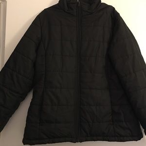 Women's Black Puffy jacket
